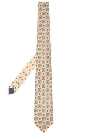 Мужской хлопковый галстук ETON бежевого цвета, арт. A000 32997 | Фото 2