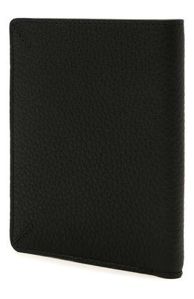 Мужской кожаная обложка для паспорта GIORGIO ARMANI черного цвета, арт. Y2R549/YQA9E | Фото 2