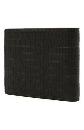 Мужской кожаное портмоне GIORGIO ARMANI черного цвета, арт. Y2R120/YVA7J | Фото 2