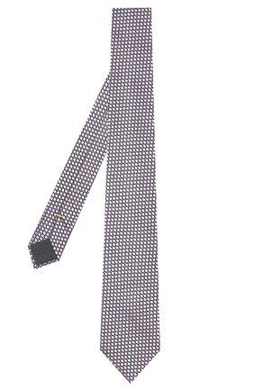 Мужской шелковый галстук CANALI светло-розового цвета, арт. 24/HJ03074 | Фото 2