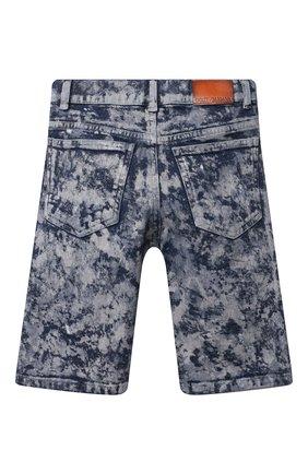 Детские джинсовые шорты DOLCE & GABBANA темно-синего цвета, арт. L42Q37/LD961/2-6 | Фото 2
