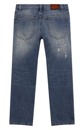 Детские джинсы DOLCE & GABBANA голубого цвета, арт. L42F34/LD958/8-14 | Фото 2