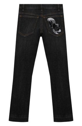 Детские джинсы DOLCE & GABBANA серого цвета, арт. L41F95/LD957/8-14 | Фото 2