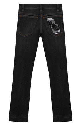 Детские джинсы DOLCE & GABBANA серого цвета, арт. L41F95/LD957/2-6 | Фото 2