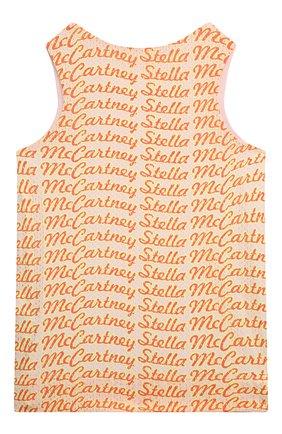 Детский топ STELLA MCCARTNEY розового цвета, арт. 602636/SQK54 | Фото 2