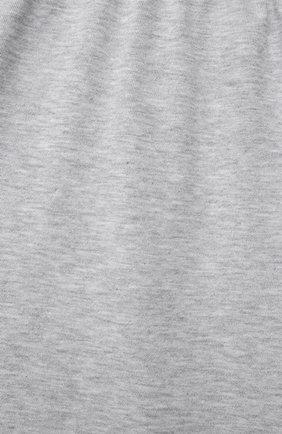 Женская хлопковая пижама LA PERLA серого цвета, арт. 70172/8A-14A | Фото 7