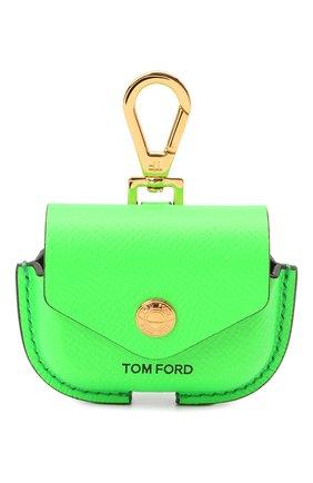 Чехол для airpods TOM FORD зеленого цвета, арт. Y0304T-LCL143 | Фото 1