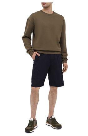 Мужские комбинированные кроссовки BOGNER хаки цвета, арт. 12120741/NEW LIVIGN0 1 B | Фото 2
