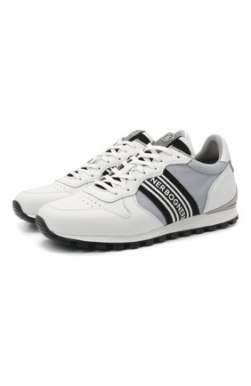 Мужские комбинированные кроссовки BOGNER белого цвета, арт. 12120435/P0RT0 15 B | Фото 1