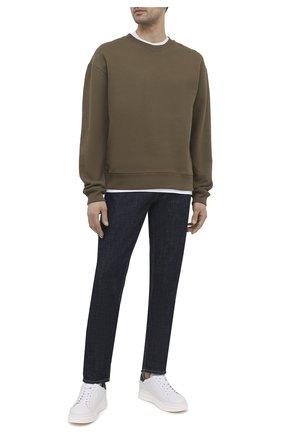 Мужские кожаные кеды BOGNER белого цвета, арт. 12120295/SARAJEV0 3 | Фото 2 (Материал внутренний: Текстиль, Натуральная кожа; Подошва: Массивная)