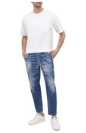 Мужские джинсы PREMIUM MOOD DENIM SUPERIOR синего цвета, арт. S21 0348457834/ALAN NEW | Фото 2