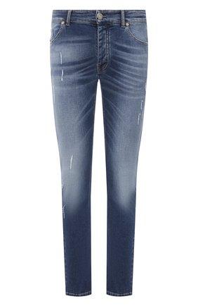 Мужские джинсы PREMIUM MOOD DENIM SUPERIOR синего цвета, арт. S21 0327521/BARRET | Фото 1