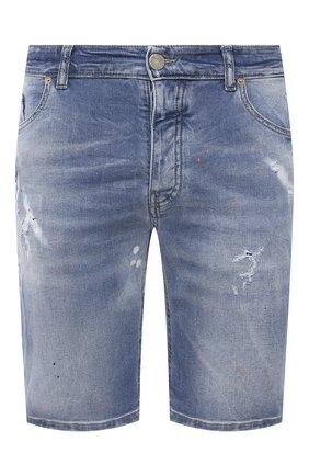 Мужские джинсовые шорты PREMIUM MOOD DENIM SUPERIOR синего цвета, арт. S21 03527S521/BARRET/S   Фото 1