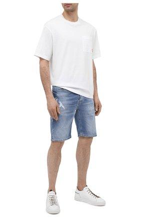Мужские джинсовые шорты PREMIUM MOOD DENIM SUPERIOR синего цвета, арт. S21 03527S521/BARRET/S   Фото 2