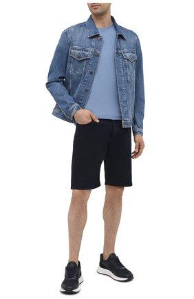 Мужские джинсовые шорты PREMIUM MOOD DENIM SUPERIOR темно-синего цвета, арт. S21 03527S620/BARRET/S | Фото 2