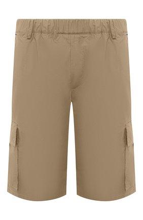 Мужские хлопковые шорты PREMIUM MOOD DENIM SUPERIOR бежевого цвета, арт. S21 04176S/JH0N/S | Фото 1