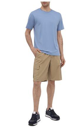 Мужские хлопковые шорты PREMIUM MOOD DENIM SUPERIOR бежевого цвета, арт. S21 04176S/JH0N/S | Фото 2