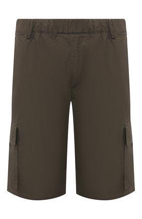 Мужские хлопковые шорты PREMIUM MOOD DENIM SUPERIOR хаки цвета, арт. S21 04176S/JH0N/S | Фото 1