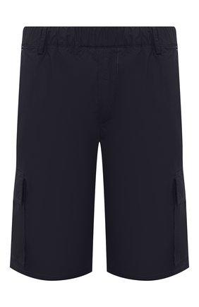 Мужские хлопковые шорты PREMIUM MOOD DENIM SUPERIOR темно-синего цвета, арт. S21 04176S/JH0N/S   Фото 1