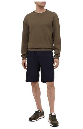 Мужские хлопковые шорты PREMIUM MOOD DENIM SUPERIOR темно-синего цвета, арт. S21 04176S/JH0N/S   Фото 2