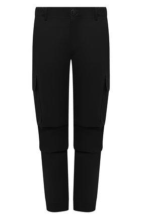 Мужские хлопковые брюки-карго PREMIUM MOOD DENIM SUPERIOR черного цвета, арт. S21 04177524/MIK | Фото 1