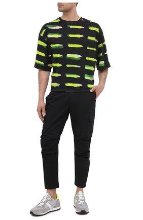 Мужские хлопковые брюки-карго PREMIUM MOOD DENIM SUPERIOR черного цвета, арт. S21 04177524/MIK | Фото 2