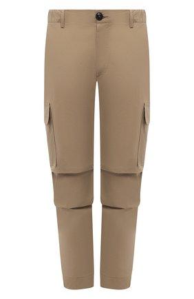 Мужские хлопковые брюки-карго PREMIUM MOOD DENIM SUPERIOR бежевого цвета, арт. S21 04177524/MIK | Фото 1