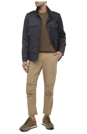 Мужские хлопковые брюки-карго PREMIUM MOOD DENIM SUPERIOR бежевого цвета, арт. S21 04177524/MIK | Фото 2