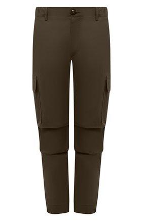 Мужские хлопковые брюки-карго PREMIUM MOOD DENIM SUPERIOR хаки цвета, арт. S21 04177524/MIK | Фото 1