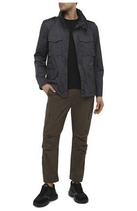 Мужские хлопковые брюки-карго PREMIUM MOOD DENIM SUPERIOR хаки цвета, арт. S21 04177524/MIK | Фото 2