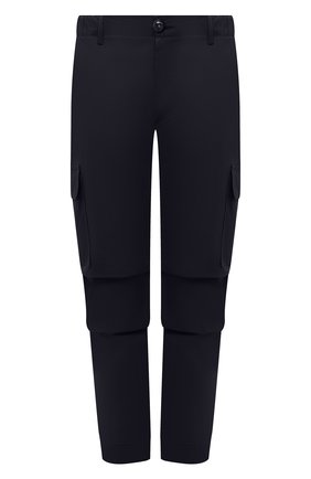 Мужские хлопковые брюки-карго PREMIUM MOOD DENIM SUPERIOR темно-синего цвета, арт. S21 04177524/MIK | Фото 1