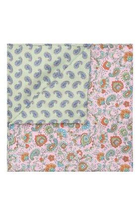 Мужской хлопковый платок ETON розового цвета, арт. A000 33034 | Фото 1