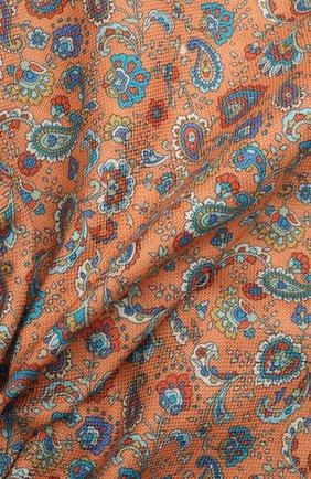 Мужской хлопковый платок ETON оранжевого цвета, арт. A000 33034   Фото 2 (Материал: Хлопок, Текстиль)