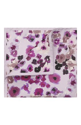 Мужской шелковый платок ETON сиреневого цвета, арт. A000 33030 | Фото 1