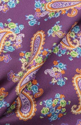 Мужской шелковый платок ETON фиолетового цвета, арт. A000 33028 | Фото 2