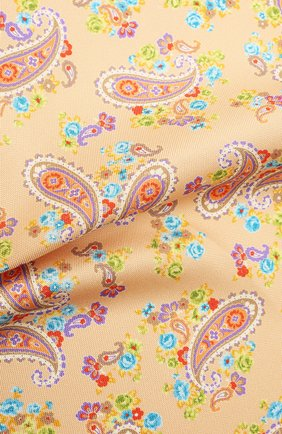 Мужской шелковый платок ETON желтого цвета, арт. A000 33028 | Фото 2