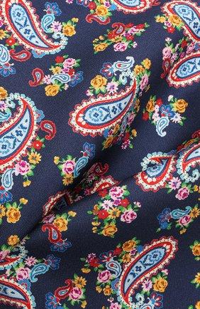 Мужской шелковый платок ETON синего цвета, арт. A000 33028   Фото 2