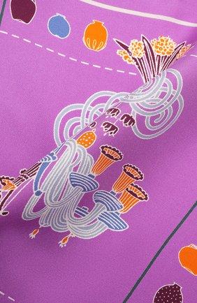 Мужской шелковый платок ETON сиреневого цвета, арт. A000 32950 | Фото 2