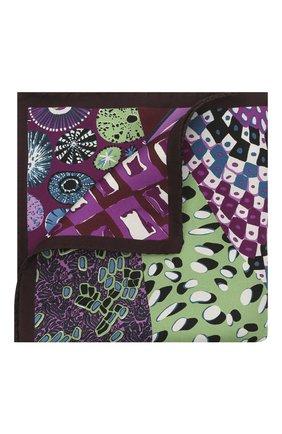 Мужской шелковый платок ETON фиолетового цвета, арт. A000 32949 | Фото 1