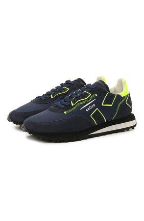 Мужские комбинированные кроссовки GHOUD темно-синего цвета, арт. E11ERSLMNS05 | Фото 1