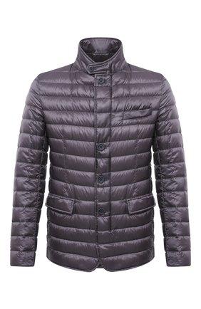 Мужская пуховая куртка HERNO темно-серого цвета, арт. PI0539U/12020 | Фото 1