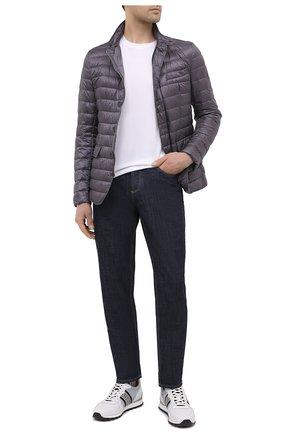 Мужская пуховая куртка HERNO темно-серого цвета, арт. PI0539U/12020 | Фото 2