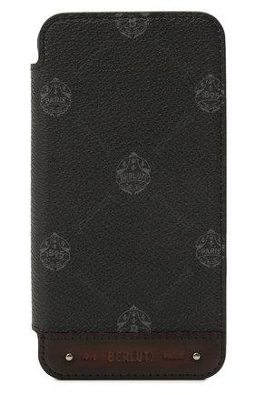 Чехол для iphone 12 pro max BERLUTI черного цвета, арт. X217009 | Фото 1