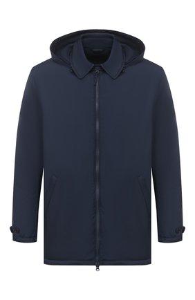 Мужская утепленная куртка ASPESI синего цвета, арт. S1 I I118 7954 | Фото 1 (Рукава: Длинные; Материал подклада: Синтетический материал; Материал внешний: Синтетический материал; Кросс-КТ: Куртка; Стили: Кэжуэл; Длина (верхняя одежда): До середины бедра; Мужское Кросс-КТ: утепленные куртки)