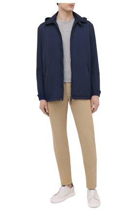 Мужская утепленная куртка ASPESI синего цвета, арт. S1 I I118 7954 | Фото 2 (Рукава: Длинные; Материал подклада: Синтетический материал; Материал внешний: Синтетический материал; Кросс-КТ: Куртка; Стили: Кэжуэл; Длина (верхняя одежда): До середины бедра; Мужское Кросс-КТ: утепленные куртки)