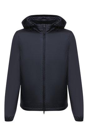 Мужская утепленная куртка ASPESI синего цвета, арт. S1 I I001 7961 | Фото 1 (Кросс-КТ: Куртка; Рукава: Длинные; Материал внешний: Синтетический материал; Мужское Кросс-КТ: утепленные куртки; Материал подклада: Синтетический материал; Длина (верхняя одежда): Короткие; Стили: Кэжуэл)