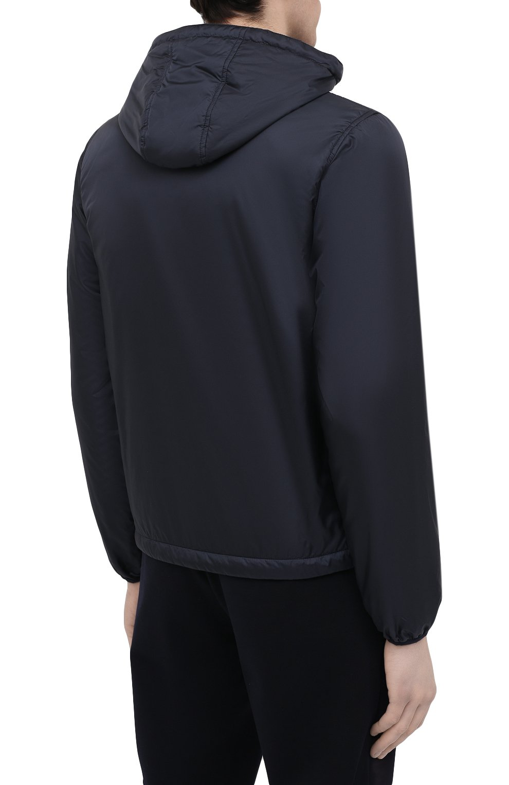Мужская утепленная куртка ASPESI синего цвета, арт. S1 I I001 7961 | Фото 4 (Кросс-КТ: Куртка; Рукава: Длинные; Материал внешний: Синтетический материал; Мужское Кросс-КТ: утепленные куртки; Материал подклада: Синтетический материал; Длина (верхняя одежда): Короткие; Стили: Кэжуэл)