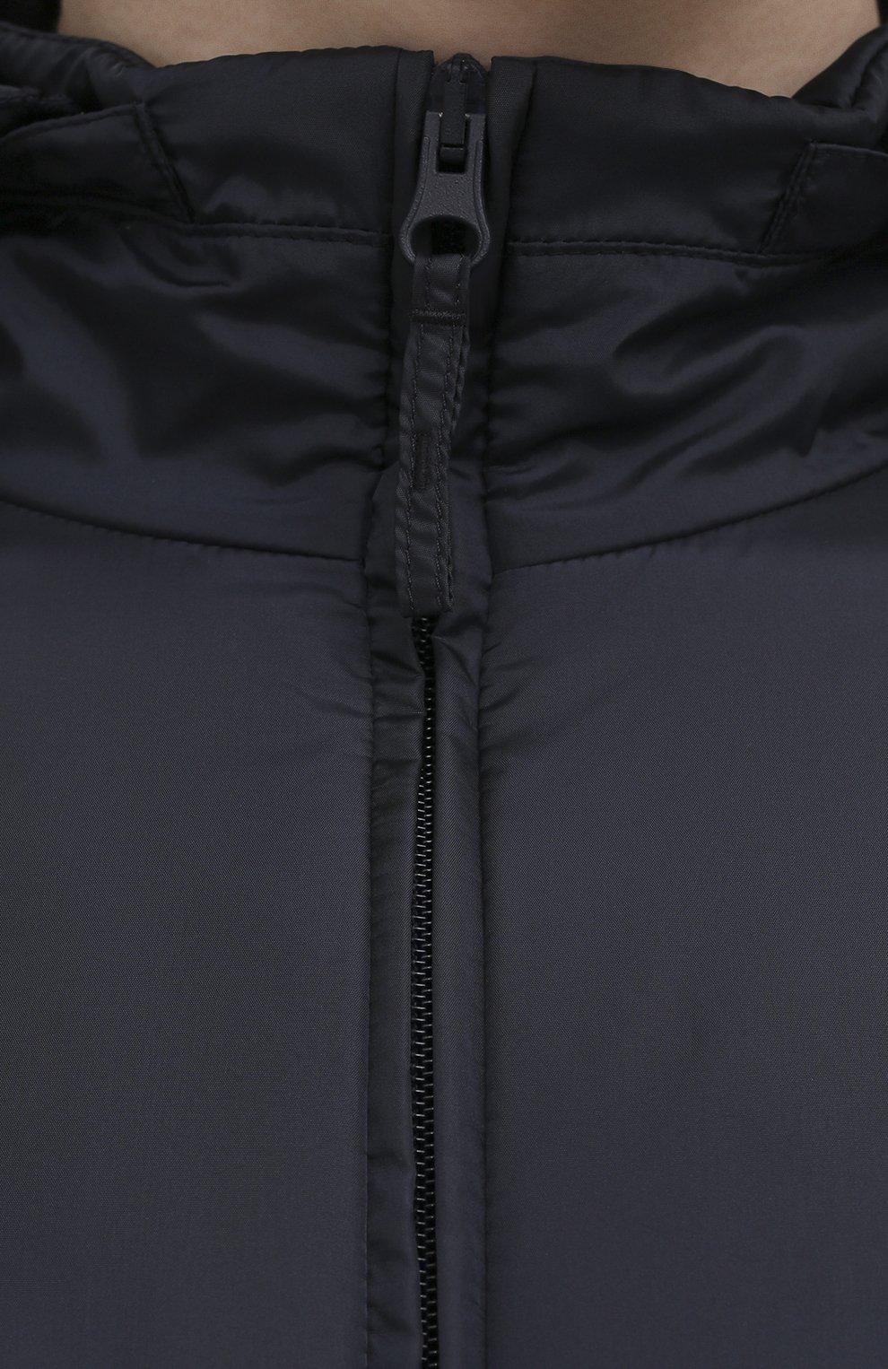 Мужская утепленная куртка ASPESI синего цвета, арт. S1 I I001 7961 | Фото 5 (Кросс-КТ: Куртка; Рукава: Длинные; Материал внешний: Синтетический материал; Мужское Кросс-КТ: утепленные куртки; Материал подклада: Синтетический материал; Длина (верхняя одежда): Короткие; Стили: Кэжуэл)