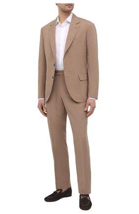 Мужские замшевые лоферы H`D`S`N BARACCO коричневого цвета, арт. 71408.0*   Фото 2