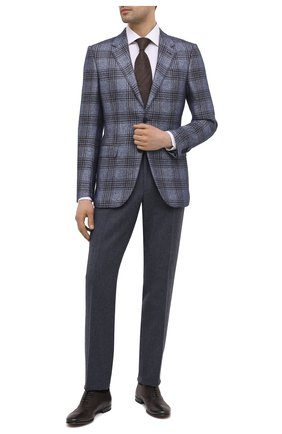 Мужские кожаные оксфорды H`D`S`N BARACCO темно-коричневого цвета, арт. 71301.C.1*   Фото 2